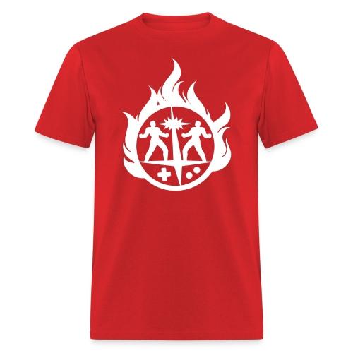 Light 'Flames' Design - Men's T-Shirt