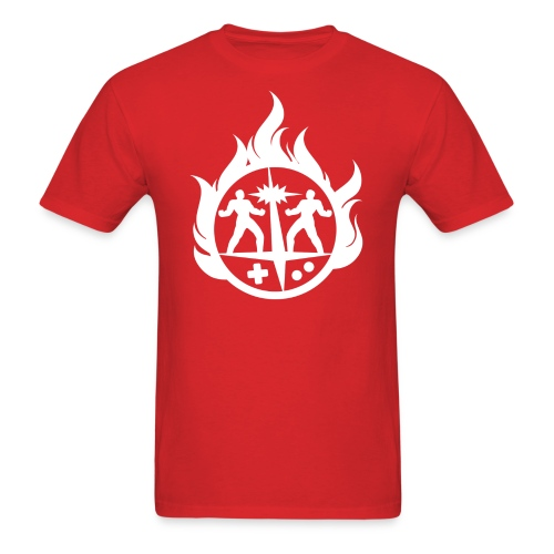 Light 'Flames' Design - Men's T-Shirt