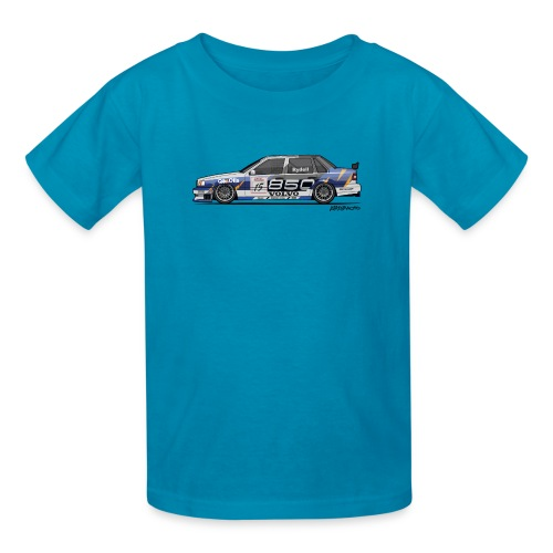 Volvo 850 Saloon TWR BTCC Super Touring Car - Kids' T-Shirt