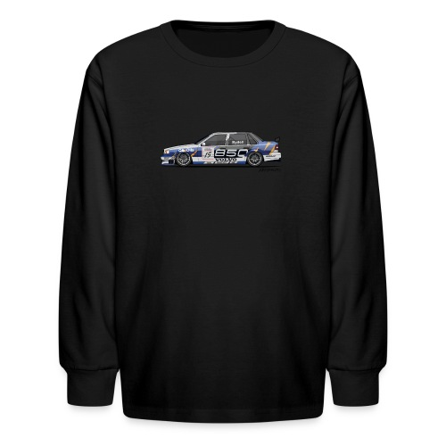 Volvo 850 Saloon TWR BTCC Super Touring Car - Kids' Long Sleeve T-Shirt