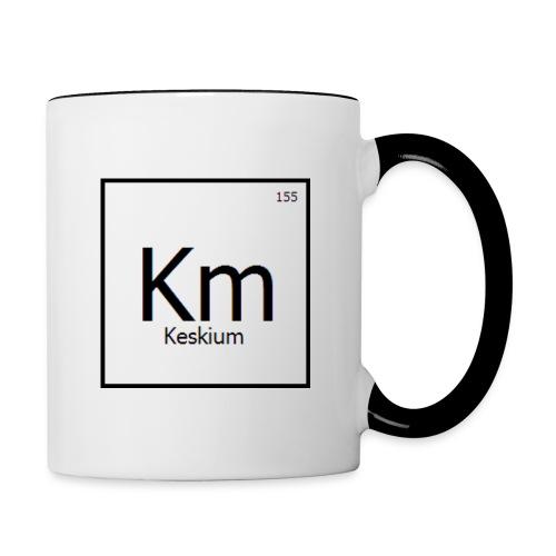 Tasse logo carré - Contrast Coffee Mug