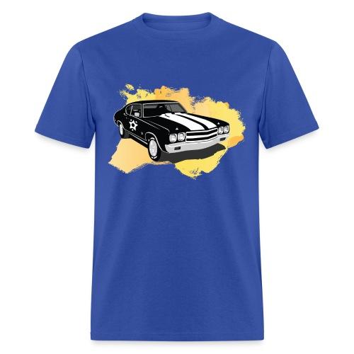 VK Retro Car - Men's T-Shirt