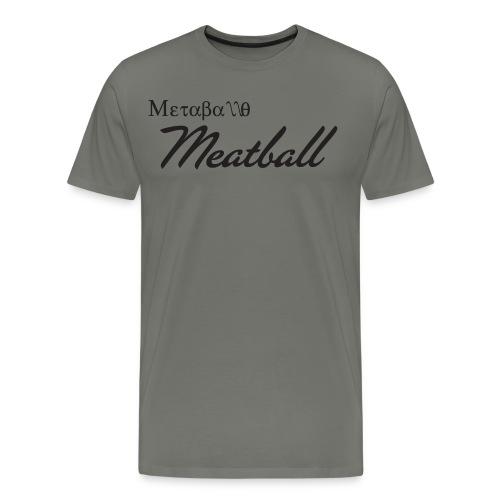 Metaballo - Men - T-Shirt Green - Men's Premium T-Shirt