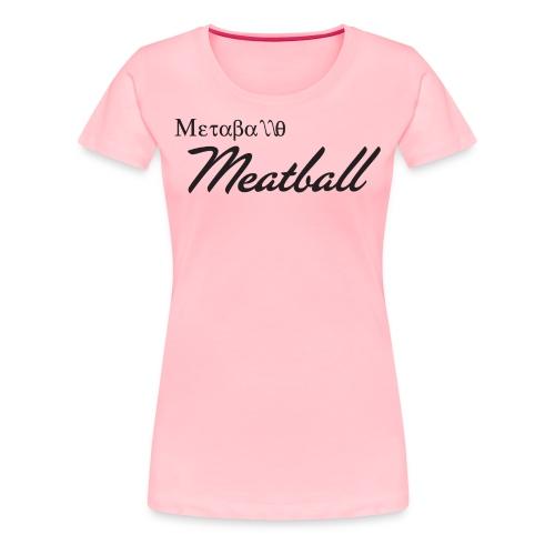 Metaballo - T-Shirt Purple - Women's Premium T-Shirt