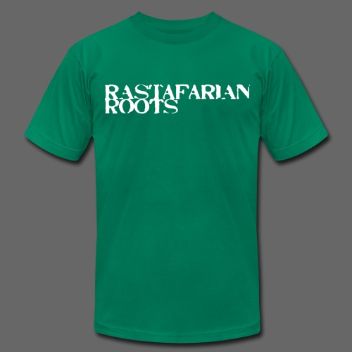 Rastafarian Roots - Men's T-Shirt by American Apparel