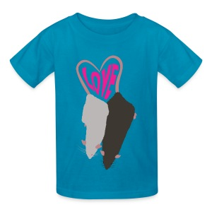 Two of Hearts Kids's Tee - Kids' T-Shirt