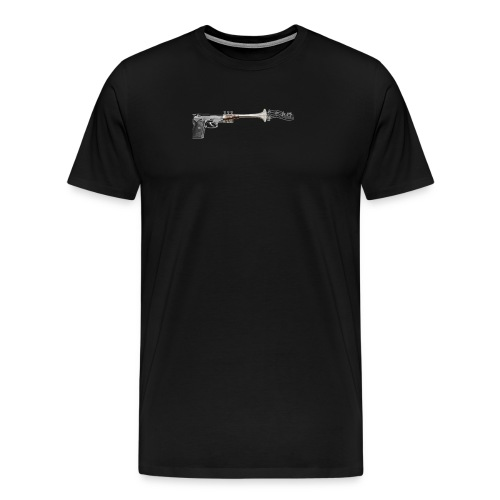 Struck by music - Men's Premium T-Shirt