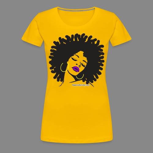 Thick & Beautiful Hair (Premium) - Women's Premium T-Shirt