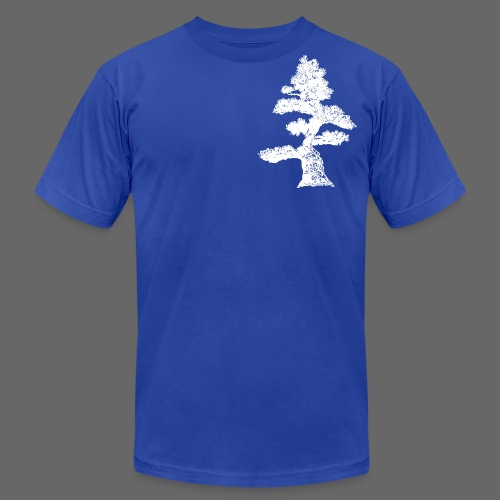 Crooked Pine - Men's T-Shirt by American Apparel
