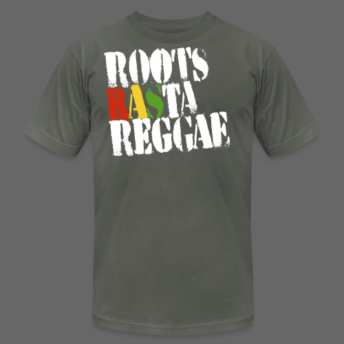 Roots Rasta - Men's T-Shirt by American Apparel