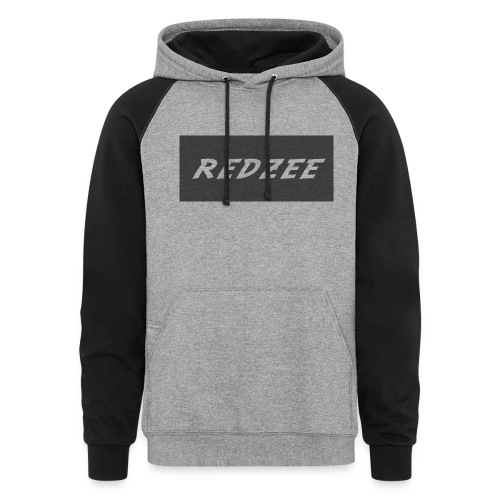 Mens Redzee Jumper - Colorblock Hoodie