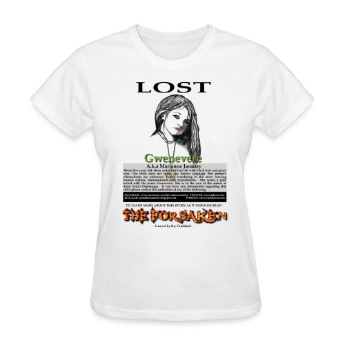 Lost - The Forsaken book tee - Women's T-Shirt