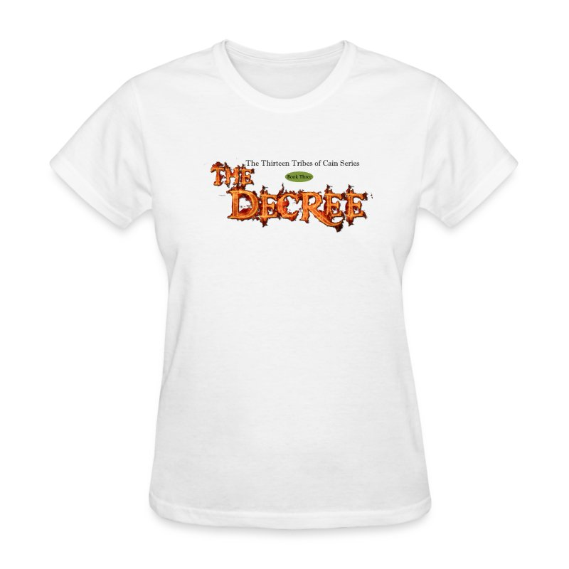 The Decree - 13 Tribes of Cain t-shirt - Women's T-Shirt