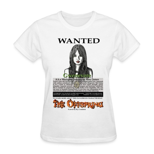 Wanted - - 13 Tribes of Cain t-shirt - Women's T-Shirt