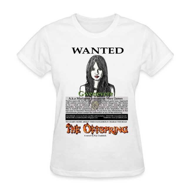 Wanted - - 13 Tribes of Cain t-shirt