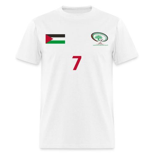 Palestine National Football Team [WHITE] Shirt - Men's T-Shirt