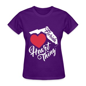 It's a Heart Thing Florida - Women's T-Shirt