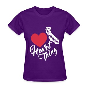 It's a Heart Thing California - Women's T-Shirt