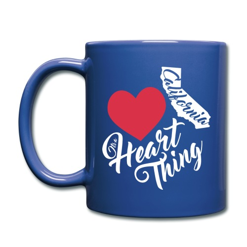 It's a Heart Thing California - Full Color Mug