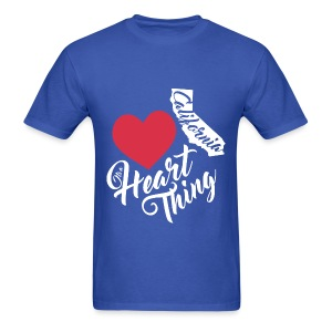 It's a Heart Thing California - Men's T-Shirt