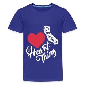It's a Heart Thing California - Kids' Premium T-Shirt