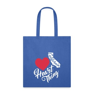 It's a Heart Thing California - Tote Bag