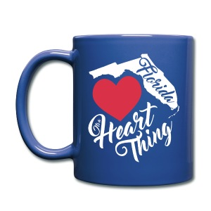 It's a Heart Thing Florida - Full Color Mug