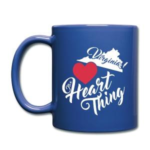 It's a Heart Thing Virginia - Full Color Mug