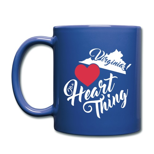 It's a Heart Thing Virginia - Full Color Mug