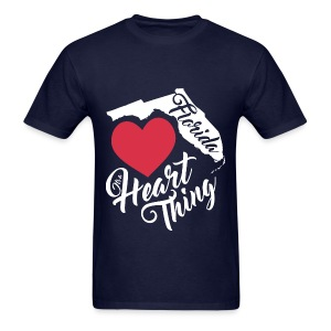 It's a Heart Thing Florida - Men's T-Shirt