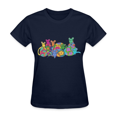 Rainbow Rats Women's Tee Shirt - Women's T-Shirt