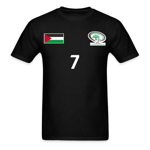 Palestine National Football Team [BLACK] Shirt - Men's T-Shirt