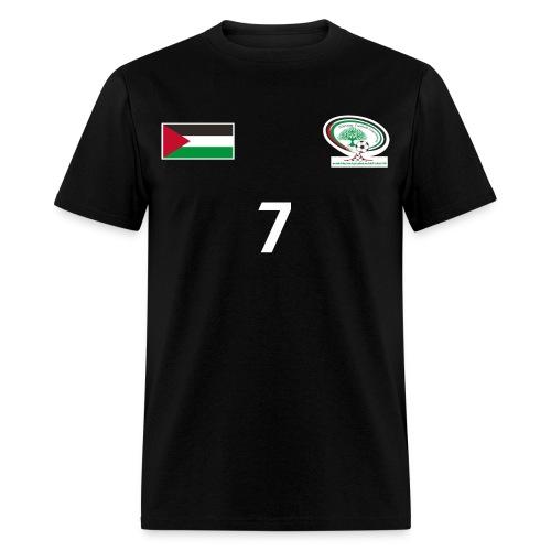 Palestine National Football Team [BLACK] Shirt - Men's T-Shirt