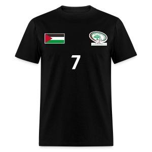 [Ashraf Nu'man] Palestine National Football Player [BLACK] Shirt - Men's T-Shirt