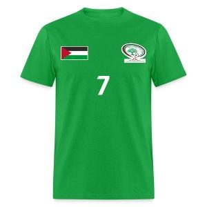 Palestine National Football Team [GREEN] Shirt - Men's T-Shirt