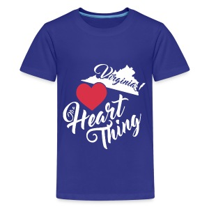 It's a Heart Thing Virginia - Kids' Premium T-Shirt