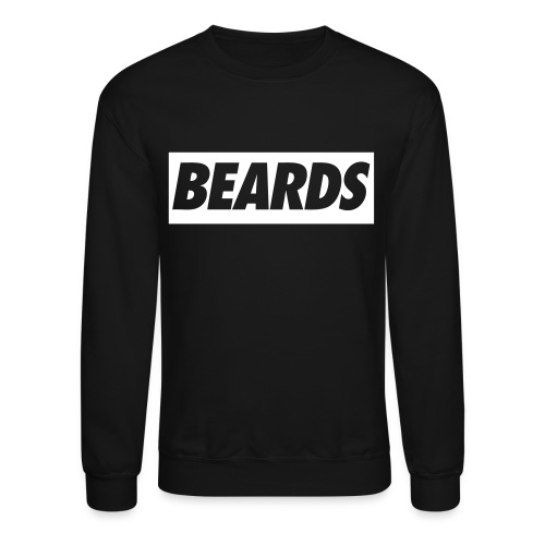 Crewneck ''BEARDS'' Sweatshirt - Crewneck Sweatshirt