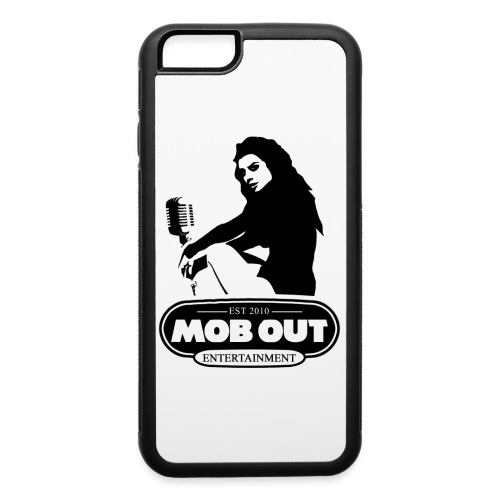MOB OUT ENT FEMALE LOGO IPHONE CASE - iPhone 6/6s Rubber Case