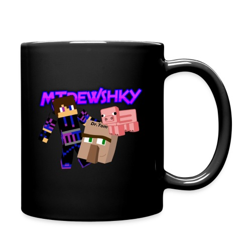 Black MTdewshky mug - Full Color Mug