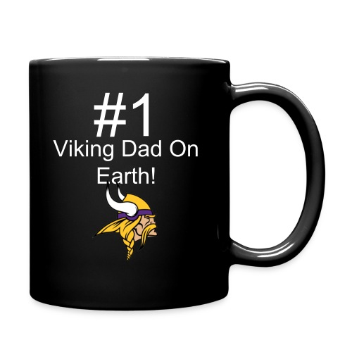 Mug for viking fan dads - Full Color Mug