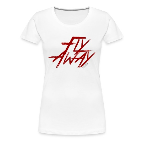 Fly Away Red mstarUSA - Women's Premium T-Shirt