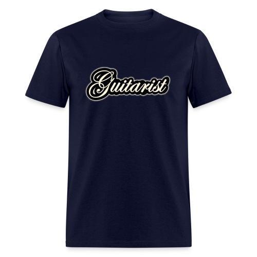vintage guitarist - Men's T-Shirt
