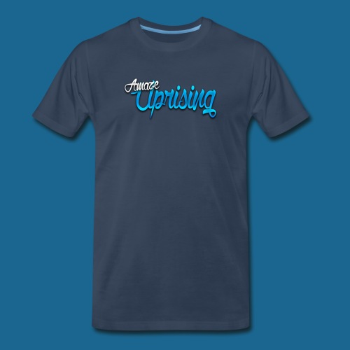 Amaze: Amaze Uprising T-Shirt (navy blue) - Men's Premium T-Shirt