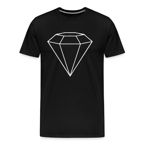 GEMMER JOHNNY BLACK CLASSIC TEE - Men's Premium T-Shirt