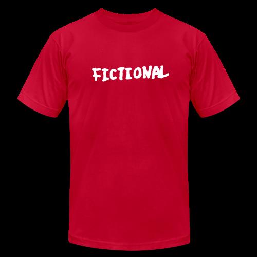 Fictional Chest Logo Tee - Men's Fine Jersey T-Shirt
