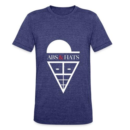 A&H T-Shirt (Blue) - Unisex Tri-Blend T-Shirt