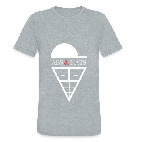 A&H T-Shirt (Grey) - Unisex Tri-Blend T-Shirt