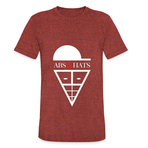 A&H T-Shirt (Red) - Unisex Tri-Blend T-Shirt