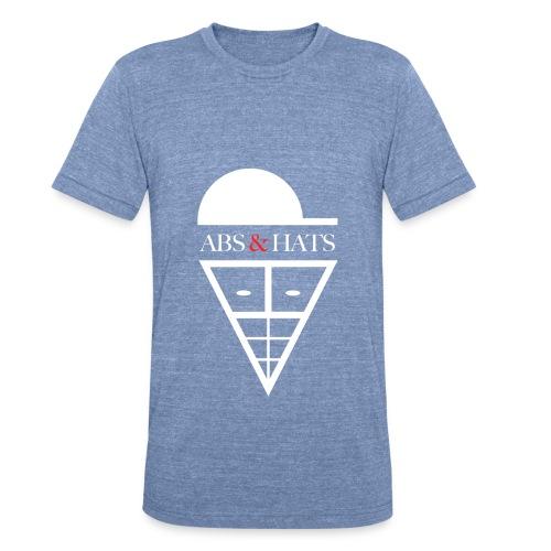 A&H T-Shirt (Light Blue) - Unisex Tri-Blend T-Shirt