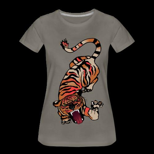 Fierce Tiger - Women's Premium T-Shirt